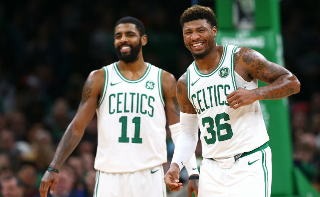 premium selection c3602 6dd01 Marcus Smart Called Kyrie Irving 'Misunderstood' In Boston
