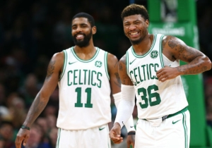 Marcus Smart Called Kyrie Irving 'Misunderstood' And Defended Him As A Teammate In Boston