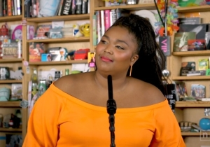 Lizzo's Huge Personality And Voice Dominated NPR's Tiny Desk For Her Delightful Three-Song Set