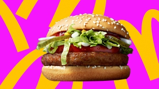 We Tasted McDonald's Mysterious Big Vegan 'Fake Meat' Burger And Have Some Thoughts