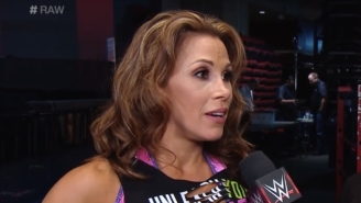 Mickie James Had Knee Surgery Today