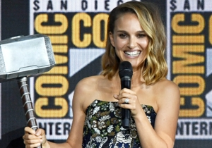 Natalie Portman Will Pick Up The Hammer As Female Thor In 'Thor: Love And Thunder'