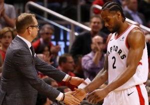 Nick Nurse Learned Kawhi Leonard Was Leaving While Watching A Prince Impersonator In Las Vegas
