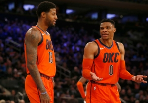 Russell Westbrook Didn't Try To 'Re-Recruit' Paul George After His Trade Request