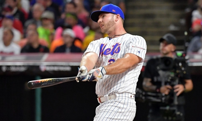 Pete Alonso Knocked Off Vladimir Guerrero Jr. To Win The 2019 Home Run Derby
