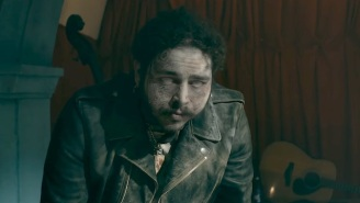 Post Malone Comes Back From The Dead In His Cinematic 'Goodbyes' Video