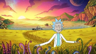Morty Is Nowhere To Be Found In The First Photos From 'Rick And Morty' Season 4