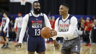 James Harden Claimed Russell Westbrook Was Not Happy In Oklahoma City