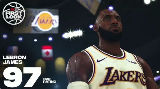 NBA 2K20' Revealed Ratings For The Top 20 Players, Led By LeBron