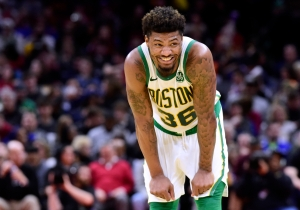 Marcus Smart Is A Fan Of Guillotines, And More We Learned From His Twitter Q+A