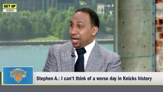 Stephen A. Smith Is Still Mourning The Knicks' Free Agency Failures On 'First Take'