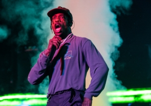 Travis Scott Brought Out Ed Sheeran In London To Perform 'Antisocial' Live For The First Time