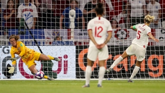 A Late Penalty Save By Alyssa Naeher Put The USWNT In Its Third Straight World Cup Final
