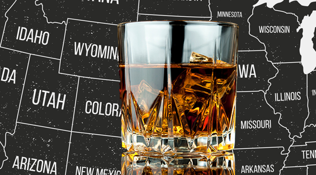 The Best Bottle Of Whiskey In Each Of The 50 States
