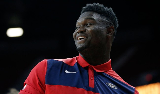 Zion Williamson Earned An 81 Overall Rating For 'NBA 2K20'
