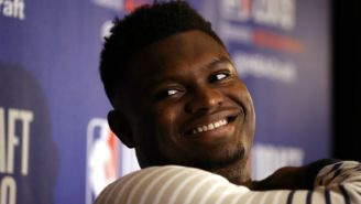 Zion Williamson Was 'Shocked' When He Learned That He's An 81 In 'NBA 2K20'