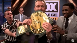 A Fox Sports Host Briefly Held The WWE 24/7 Championship