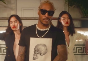 Future Cavorts With Models In His High-Fashion '100 Shooters' Video Featuring Meek Mill And Doe Boy