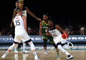 Team USA's Hot Shooting Gave Australia Problems In A 102-86 Win