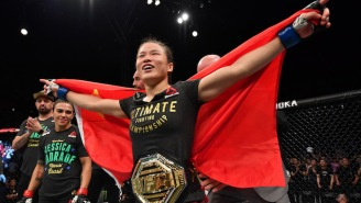 Zhang Weili Won The UFC Strawweight Title With A First-Round Finish Of Jessica Andrade