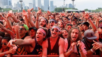 A Swarm Of People Tried To Hop The Fence At Lollapalooza, And The Video Is Wild