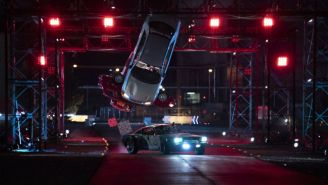 The Trailer For Charlize Theron's 'Hyperdrive' Puts Stunt Driving On A 'Ninja Warrior' Course