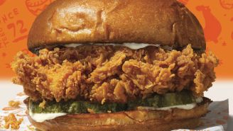 Popeyes Has Apparently Completely Sold Out Of Its Beloved Chicken Sandwiches