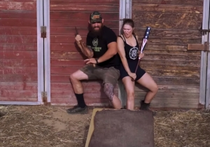 Ronda Rousey's Horror Parody With D-Von Dudley Is The Funniest Thing You'll See Today