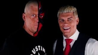 Dustin Rhodes Has Signed A Multi-Year Contract With All Elite Wrestling