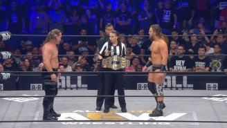 AEW Crowned Its First World Champion At All Out