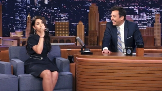 Alessia Cara Nails An Impression Of Billie Eilish Singing 'Pop Goes The Weasel' On 'Fallon'