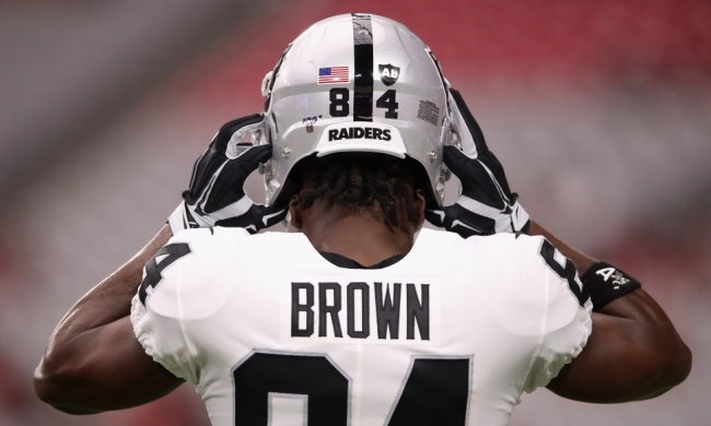 The Raiders Want To Know If Antonio Brown Is 'All-In Or All-Out' As Helmet Dispute Continues