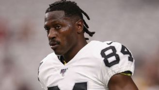 Antonio Brown Was At Raiders Practice But Reportedly Has A New Helmet Grievance With The NFL