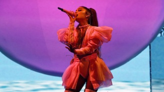 Ariana Grande Performed Her New Single 'Boyfriend' Live For The First Time At Lollapalooza