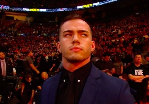 Austin Theory Is The Latest Wrestler To Appear In The NXT TakeOver Audience