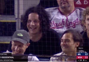 Jack White Returned To A Brewers-Nationals Extra Innings Game After Leaving To Go Play A Show