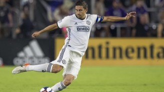 MLS Player Alejandro Bedoya Called On Congress To 'End Gun Violence' After Scoring A Goal In D.C.