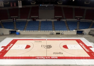 The Blazers Will Use A Special 50th Anniversary Court Design For The Entire 2019-20 Season