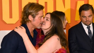 Lena Dunham Awkwardly Attempted To Kiss Brad Pitt On The Red Carpet, And The Backlash Is Plentiful