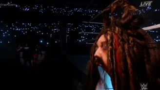 Bray Wyatt Debuted His Spooky, Awesome New 'Fiend' Entrance At WWE SummerSlam