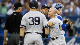 Brett Gardner And A Drunken Rugby Team Got Ejected From A Yankees-Blue Jays Game