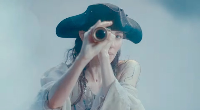 Caroline Polachek's 'Ocean Of Tears' Video Was Inspired By Monet And 'Pirates Of The Caribbean'
