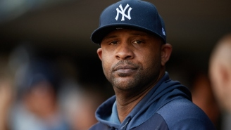 CC Sabathia Got Kicked Out Of Yankees-Indians Despite Being On The Injured List