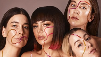 Charli XCX Gets An Assist From Haim On Her Synthy New Single 'Warm'