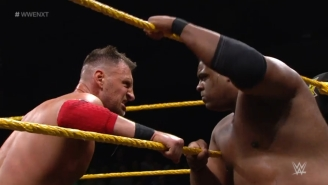 8 Great: GIFs From Keith Lee Vs. Dominik Dijakovic