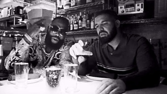 Drake And Rick Ross Light Up The Sky In Their Melodramatic 'Money In The Grave' Video