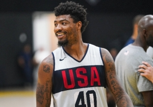Report: Marcus Smart Is Clear To Return To USA Basketball From A Calf Injury