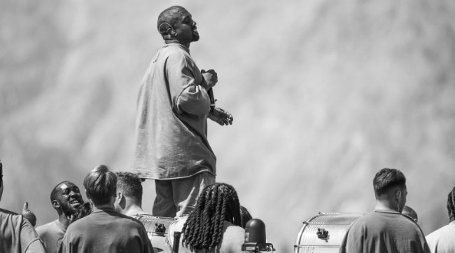 Kanye West's Sunday Service Performed To The General Public For The Second Time Ever