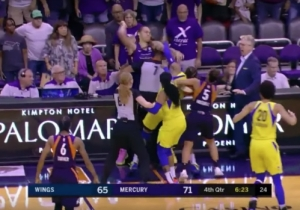 Brittney Griner Threw Punches In A Wild WNBA Fight That Got Six Players Ejected