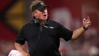 Jon Gruden Thought The Raiders Playing On An 80-Yard Field Was Ridiculous Like Everyone Else